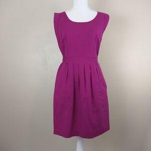 🌴 LOFT Fushia dress size 6 petite